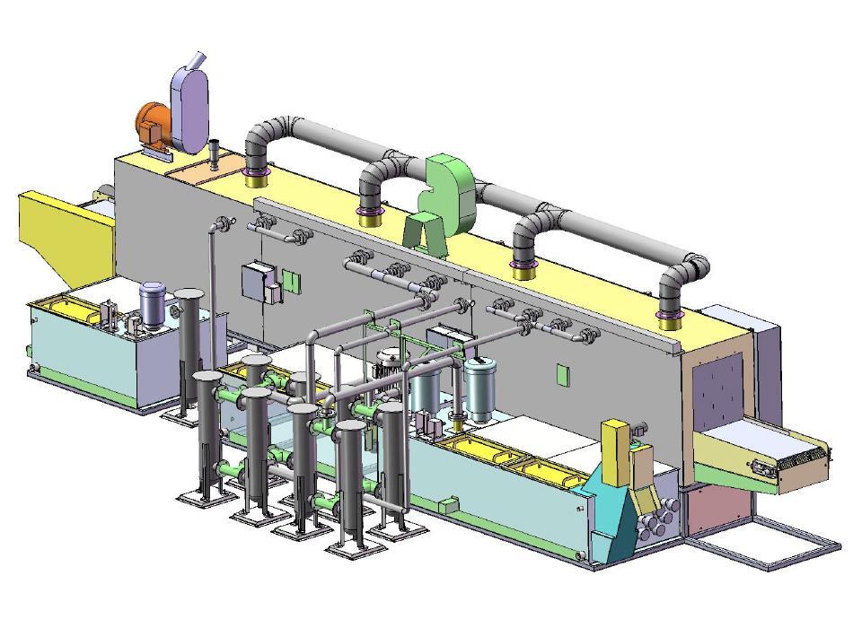 Multi Stage for Engine blocks