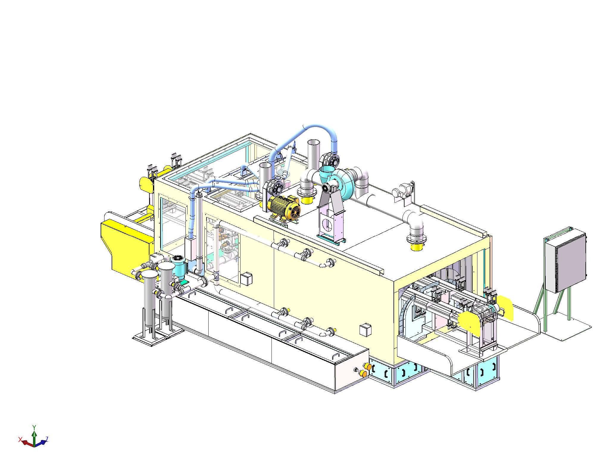 Custom Flow through Bumper Washer
