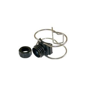 160010 - Clip Eyelet W/ Black Nut
