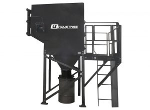 Dust Collector 50 in black metal material